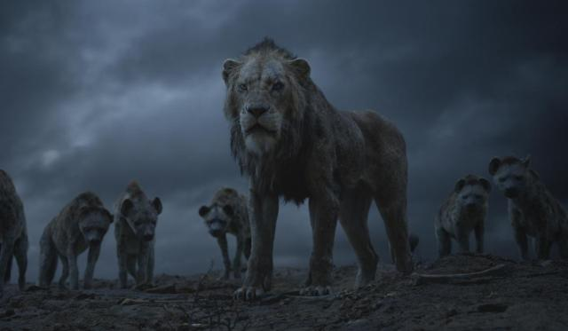"""THE LION KING - Featuring the voices of Florence Kasumba, Eric André and Keegan-Michael Key as the hyenas, and Chiwetal Ejiofor as Scar, Disney's """"The Lion King"""" is directed by Jon Favreau. In theaters July 19, 2019.  © 2019 Disney Enterprises, Inc. All Rights Reserved."""