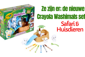 Crayola Washimals Safari en Huisdieren