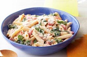 Creamy-Spinach-Pasta-Skillet-64415