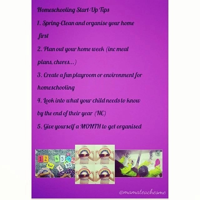 Homeschool start up tips