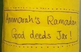 Ramadan Good Deeds Jar