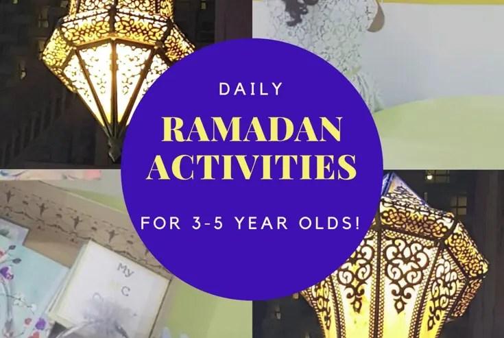 daily ramadan activities