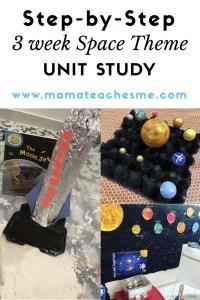 Space Theme Unit Study