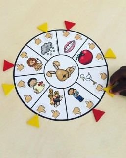 arabic word sound wheel