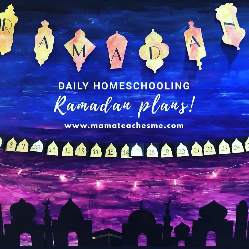 Ramadan Daily Homeschooling Plan (Download Free Plan)
