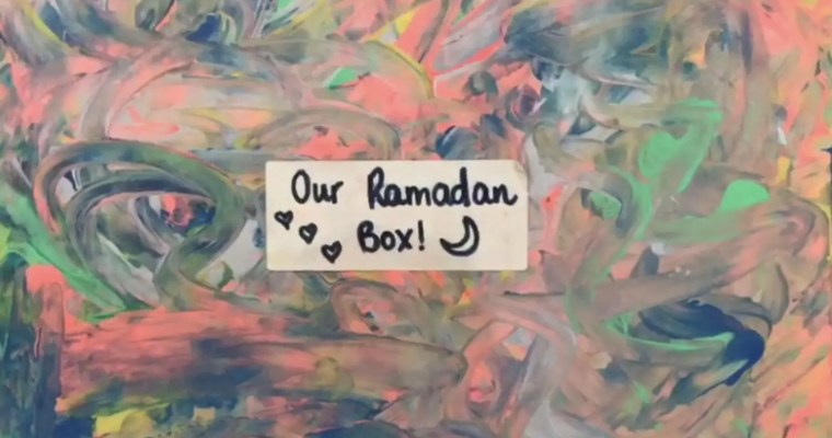 What's inside our Ramadan Box? Keep busy activities for 3-5 year olds!