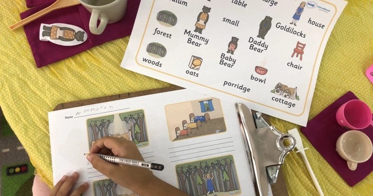 Year 1 Literacy – Step by Step Fairy Tales Theme