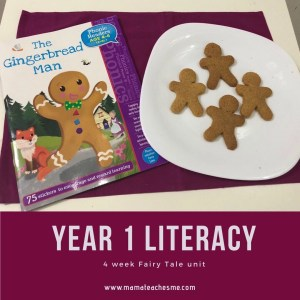YEAR 1 homeschool plans literacy fairy tales, unit study, themes