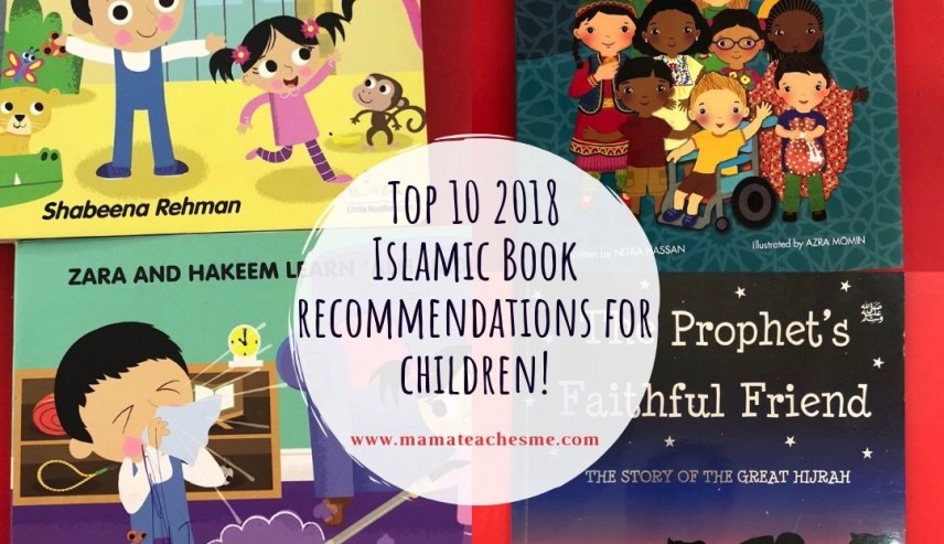 Top 10 Islamic Books for children, mamateachesme