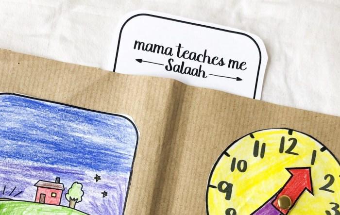 mama teaches me salaah