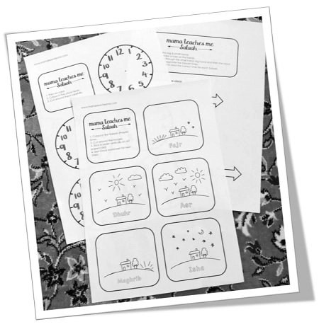 "<span itemprop=""name"">Mama Teaches Me Salaah – The 5 Prayers (KS1)</span>"