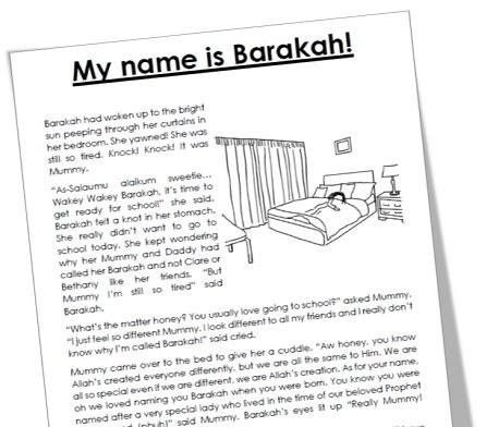 "<span itemprop=""name"">Mama Teaches Me Stories – My Name is Barakah!</span>"