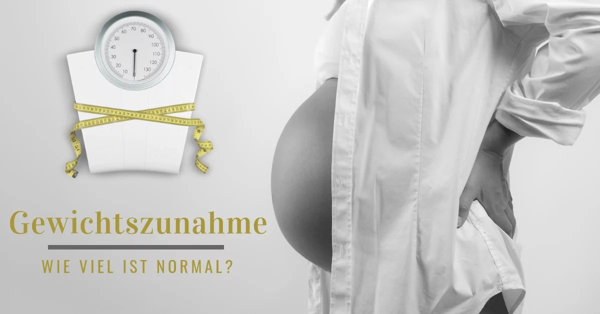 Gewichtszunahme 2 Schwangerschaft