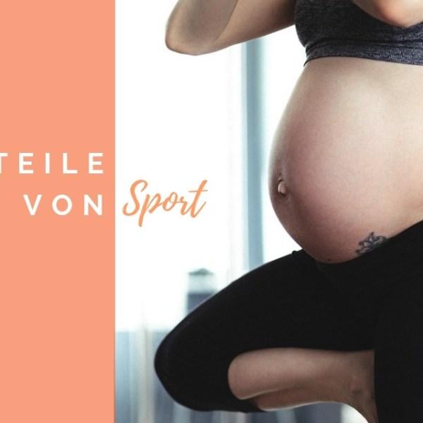 Sport in der Schwangerschaft - Vorteile von Sport