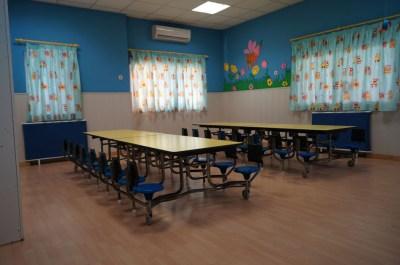 Comedor de la Escuela Infantil Mamatina de Aravaca