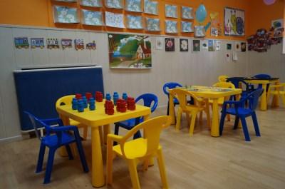 Sala melocoton de la Escuela Infantil Mamatina de Aravaca (1)