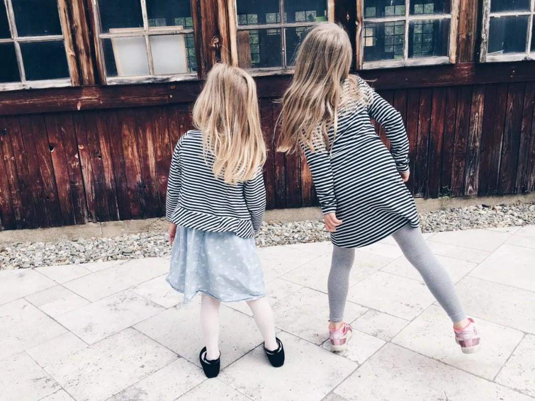 Fashion Challenge Mama und Tochter: Stars and Stripes MamaWahnsinnHochDrei MamaBlog