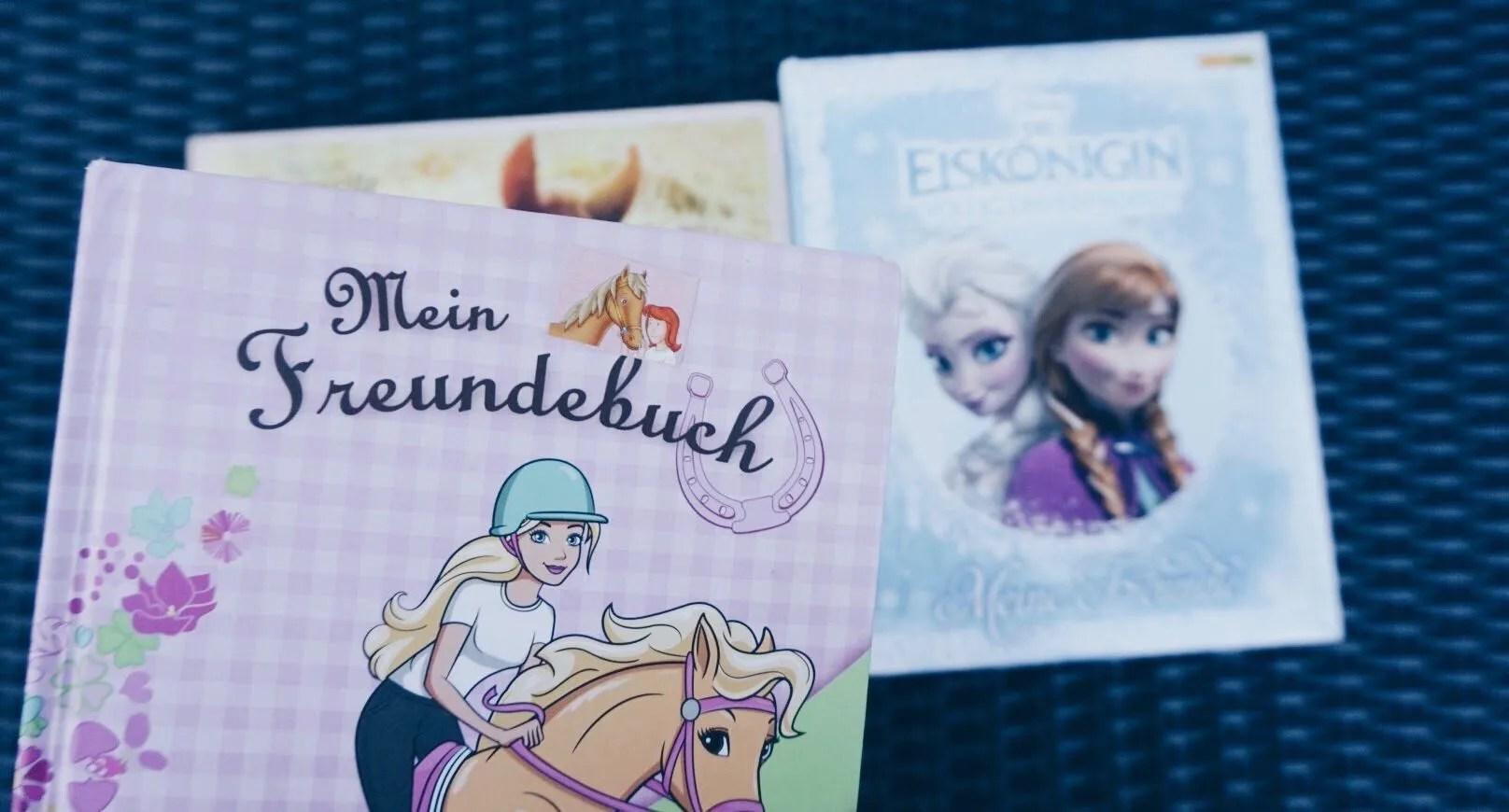 MamaWahnsinnHochDrei und die Freundschaftsbücher