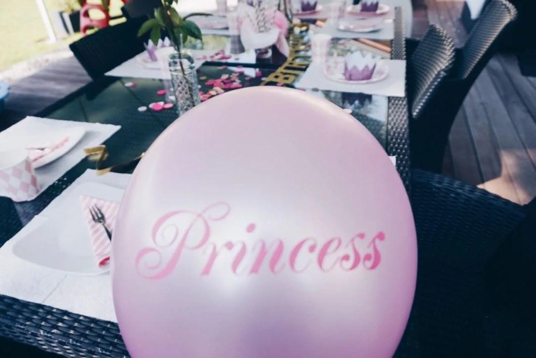 Party, die Deko und Tipps Prinzessinnenparty MamaWahnsinnHochDrei