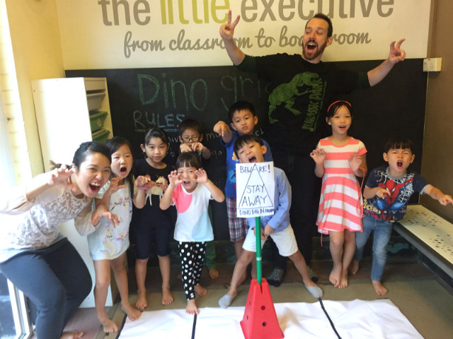 Dino discovery camp at The Little Executive!