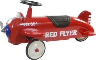 retro aeroplane loopwagen verjaardagscadeau