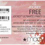 GRATIS: Jockey Panty en Macy's