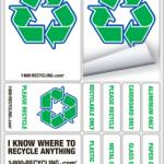 GRATIS: Stickers de Reciclaje