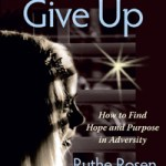 Never give up de Ruthe Rosen: Book Tour y Sorteo (3 ganadoras)