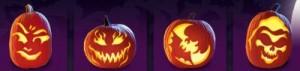 Diseños para decorar calabazas de Halloween GRATIS