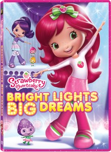 Nuevo DVD Strawberry Shortcake: Bright Lights Big Dreams