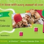 Gratis: 25 fotos impresas en Walgreens y un calendario
