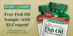aceite de pescado muestra gratis