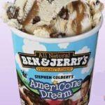 Gratis: helado Ben and Jerry's