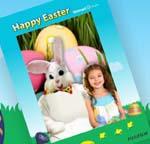 Gratis Foto 5×7 con el conejo de Pascuas en Walmart