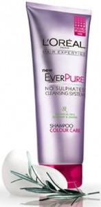 Gratis muestra de shampoo L'Oreal Ever Pure