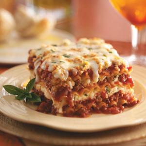 Receta: Lasagna Mixta (sorteo cupones)