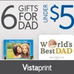 6 regalos para el día padre por menos de $6 con Vistaprint