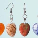 Gratis aros de piedra con forma de corazón en Sneakpeek