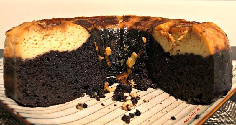 Receta: Flan y Pastel de Chocolate