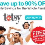Fin de semana de ofertas en Totsy