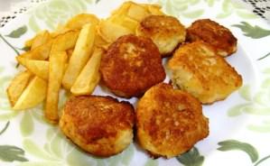 Croquetas de pollo -Receta-
