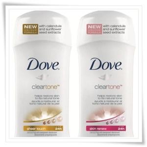 Muestra gratis desodorante Dove cortesía de Target