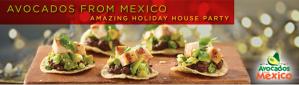 Anfitriona una fiesta de Aguacates de Mexico con House Party