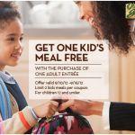 Niños comen gratis en Olive Garden (hasta el 16 de Septiembre)