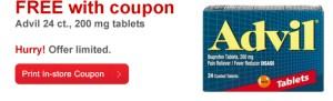 GRATIS caja de Advil (24 tablets) en CVS {con cupón}