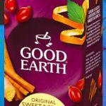 Muestra gratis de te Good Earth Tea