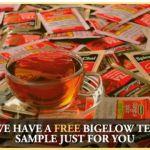 Muestra gratis de Te Bigelow