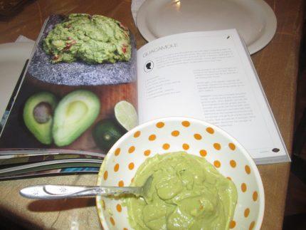 guacamole, receta