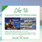 "Gratis calendario 2013 ""Wander the World"""