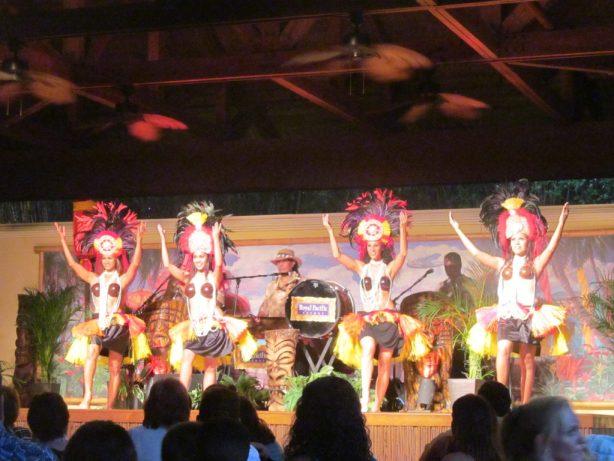 Hula Show at the Loews Royal Pacific